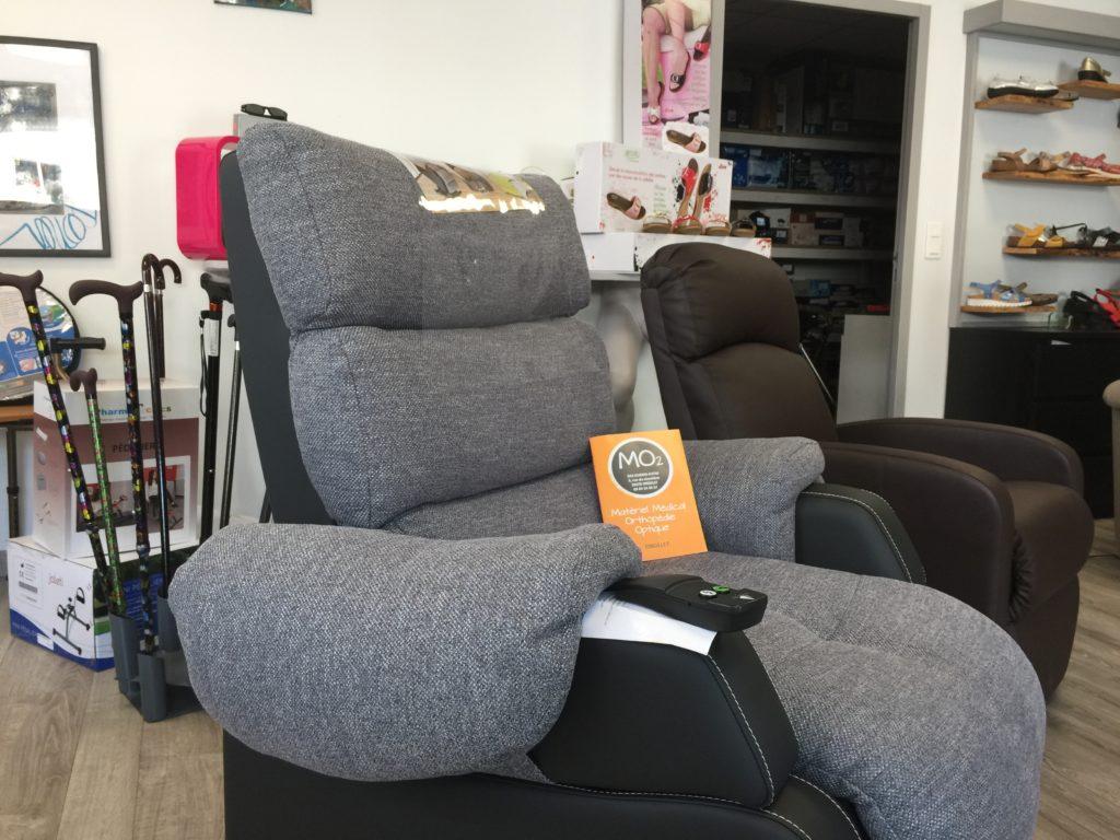fauteuil releveur électrique